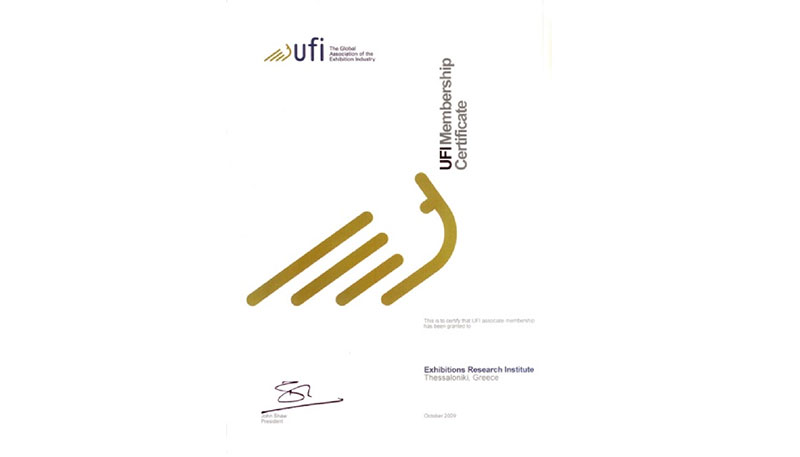 The Business & Exhibition Research and Development Institute is a member of UFI